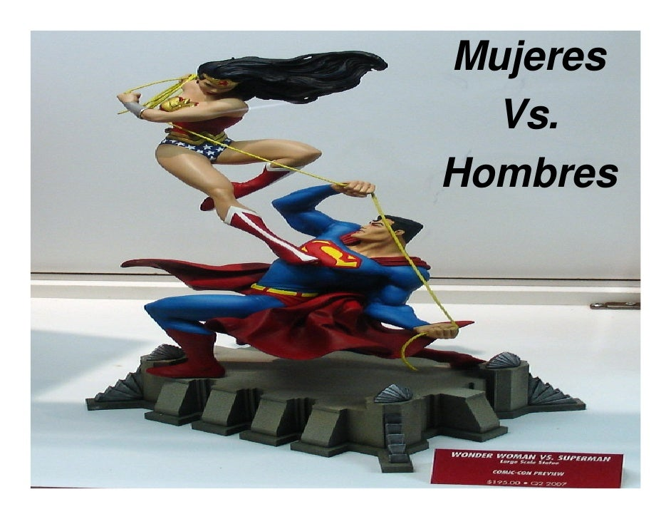 Mujeres   Vs. Hombres