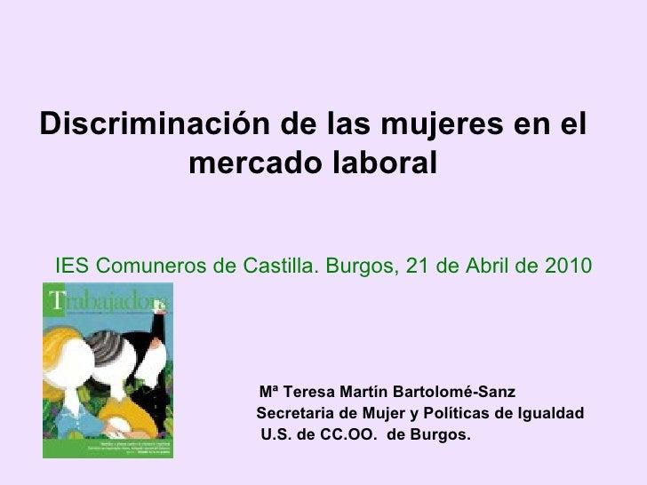 Mujer y mercado de trabajo
