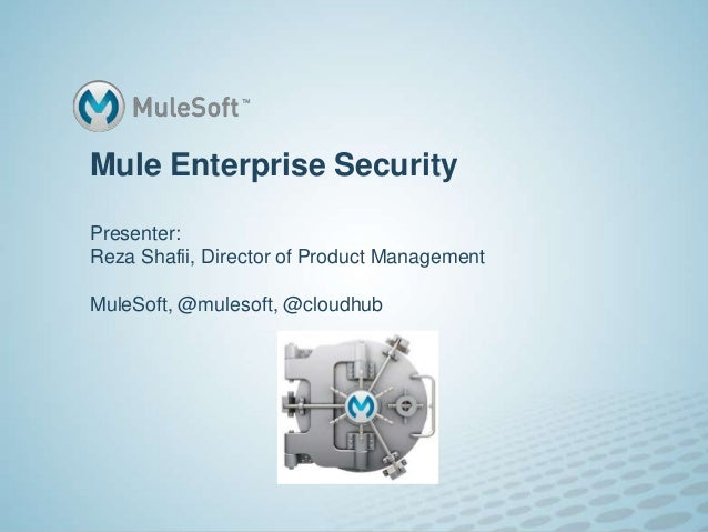 Protect against threats with bullet-proof integration | MuleSoft