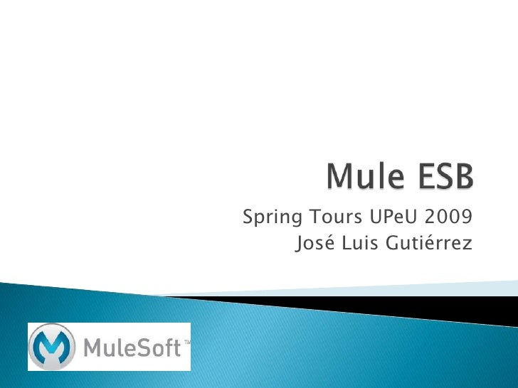 Mule ESB