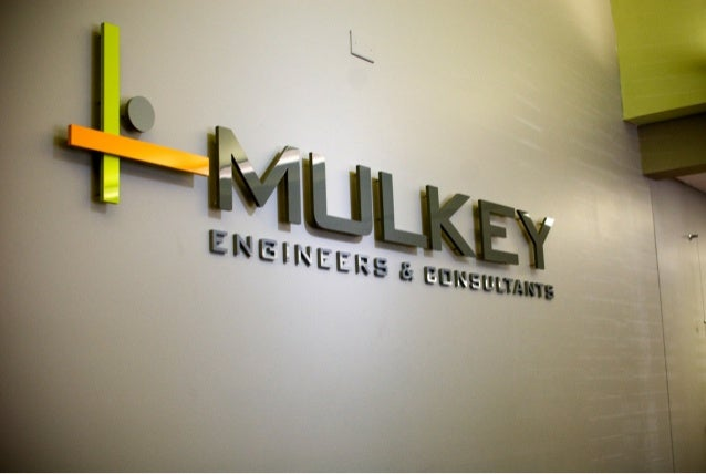 Mulkey dimensional logo