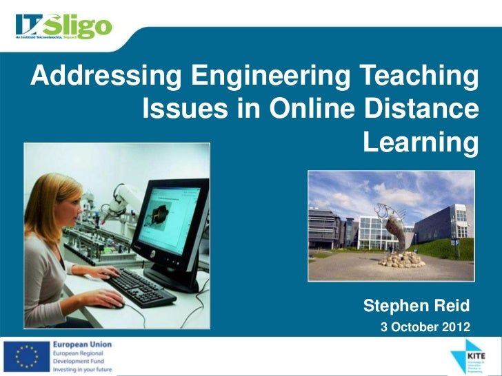 Addressing  Engineering Teaching Issues in Online Distance Learning