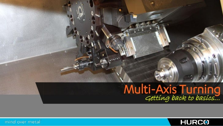 Multi-Axis Turning | Hurco IMTS 2012