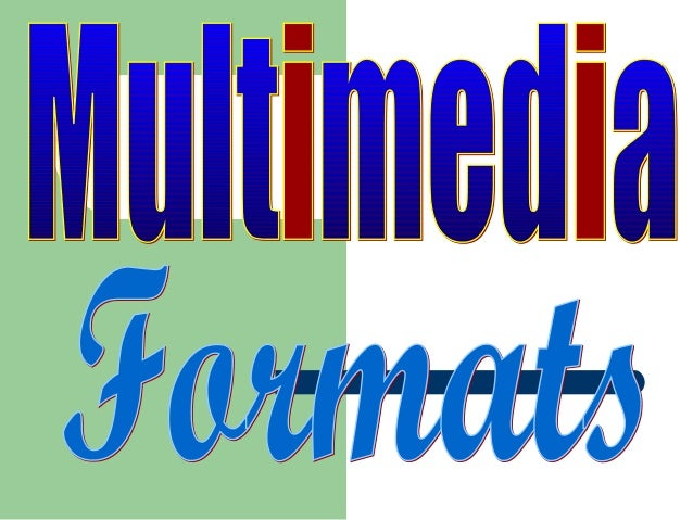 Windows Multimedia Formats  The ASF Format  The ASX Format  The WMA Format  The WMV Format  Other Windows Media Forma...