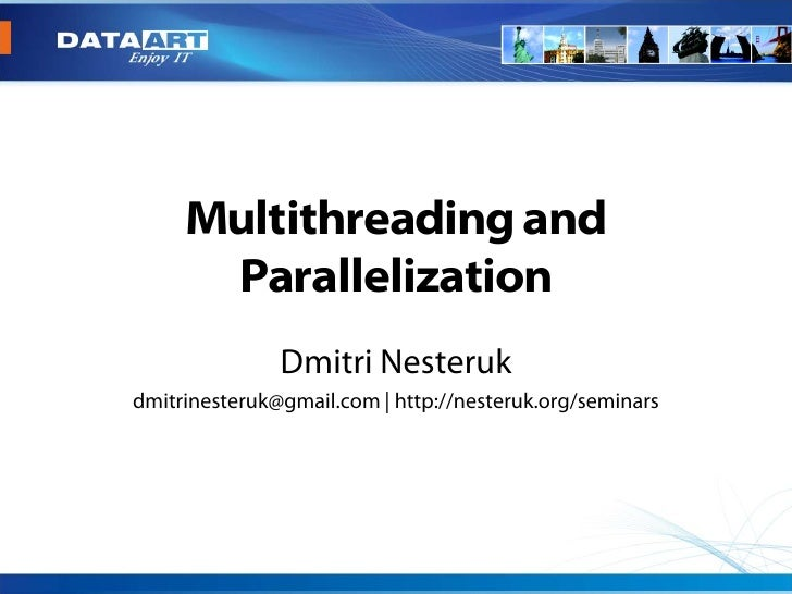 .Net Multithreading and Parallelization