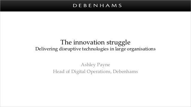Multichannel innovation-debenhams