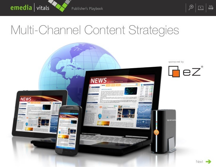 Publisher's PlaybookMulti-Channel Content Strategies                                   sponsored by                       ...
