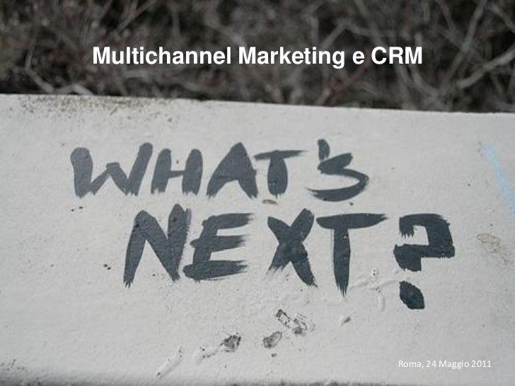 Multichannel marketing & crm il caso bnp paribas