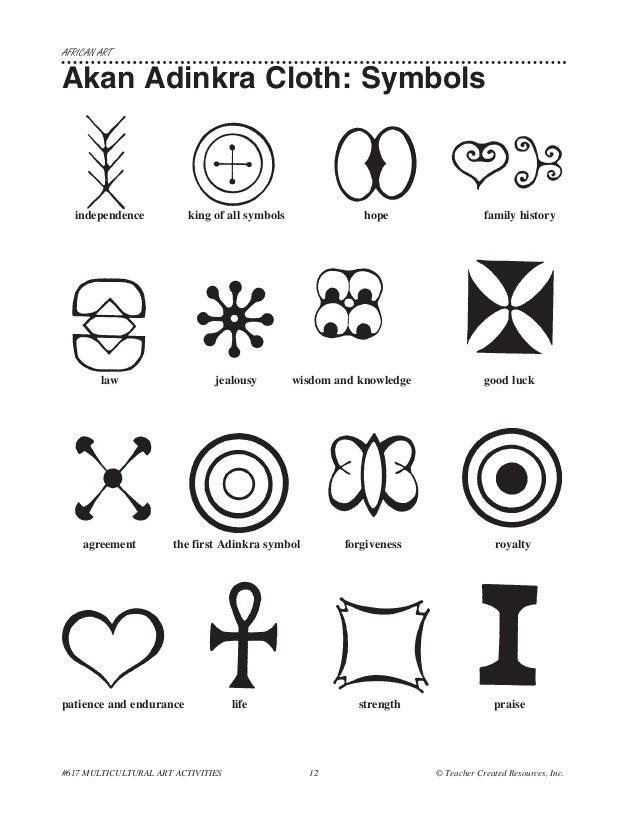 African Symbols  Ancient Symbols
