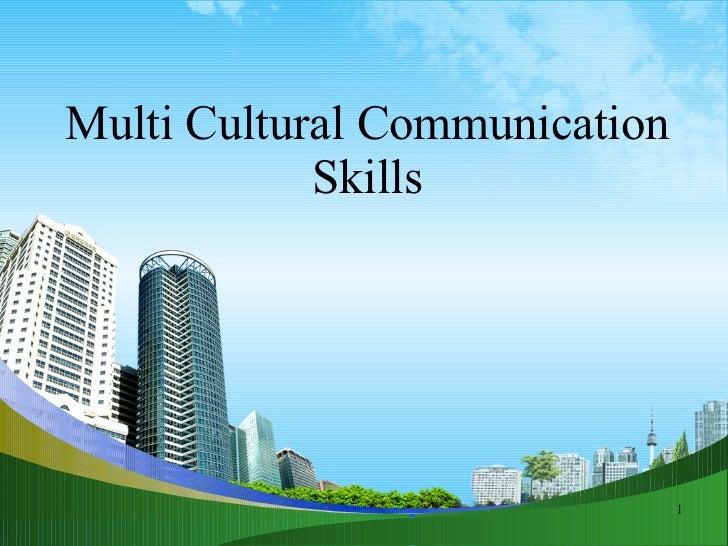 Multi Cultural Communication Skills