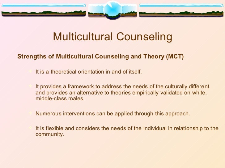 the challenges of multicultural counseling Ethical issues in multicultural counseling abstract in the past, counselors have lacked the knowledge and skills to interpret ethical guidelines in multicultural.