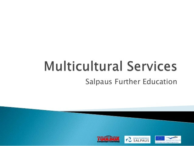 Multicultural services at Salpaus Further Education