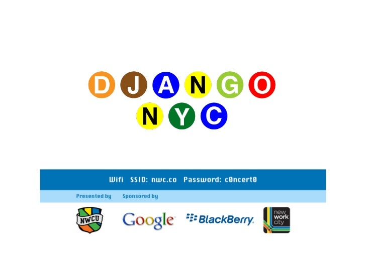Django Multi-DB in Anger