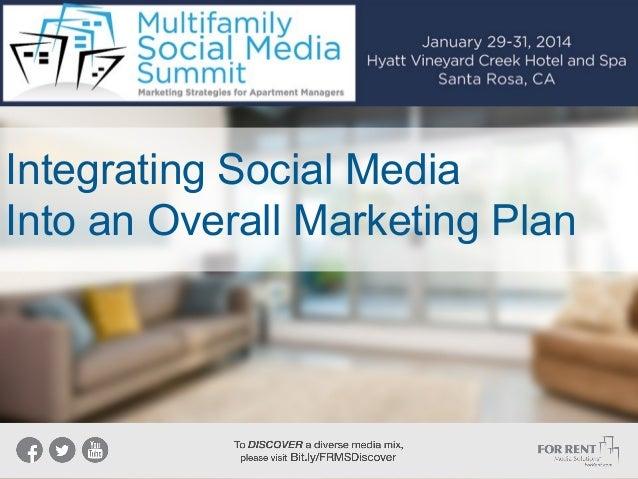Integrating Social Media Into an Overall Marketing Plan