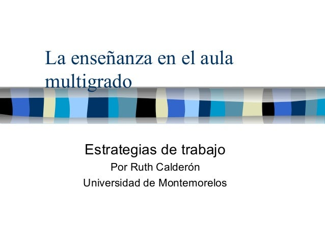Aulas Multigrado