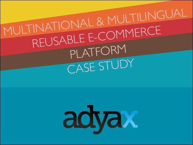 Multiple countries & multilingual e-commerce platforms using Drupal