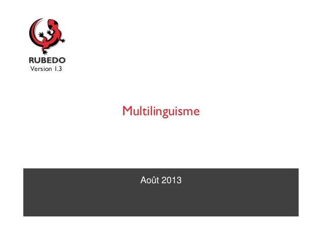 Tutoriel : Multilinguisme avec le cms open source Rubedo