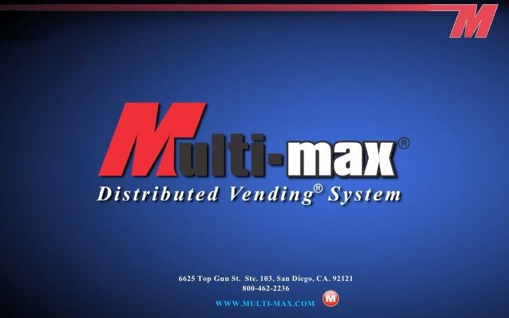 Multi Max Catalog