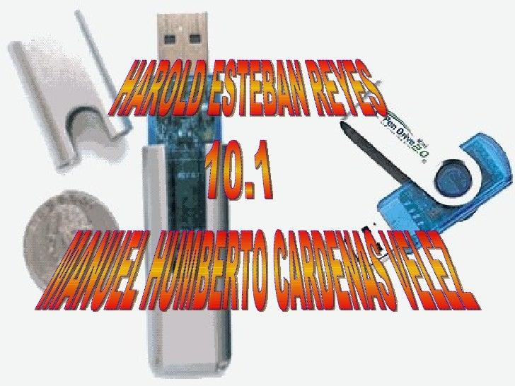 HAROLD ESTEBAN REYES  10.1 MANUEL HUMBERTO CARDENAS VELEZ