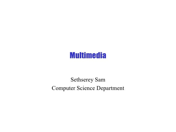 Multimedia outline