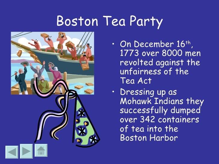 Boston tea party summary