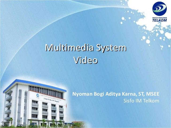 Multimedia Object - Video