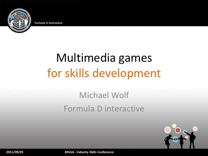 Serious games and gamification for skills development