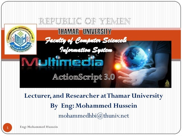 Eng: Mohammed Hussein1Lecturer, and Researcher atThamar UniversityBy Eng: Mohammed Husseinmohammedhbi@thuniv.net