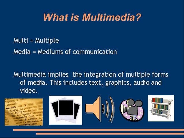 Multimedia Ppt