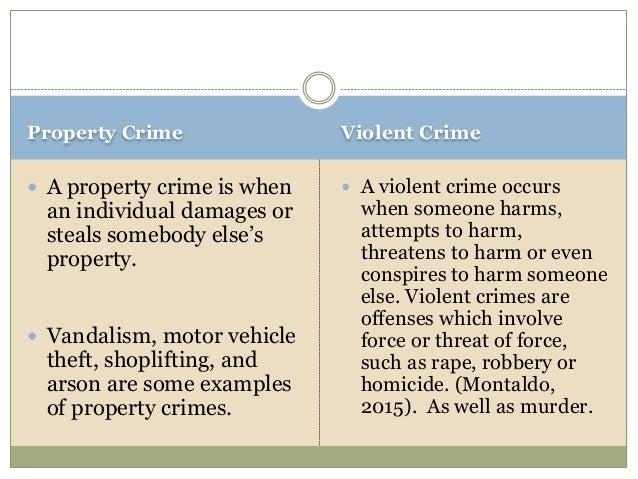 crime violence