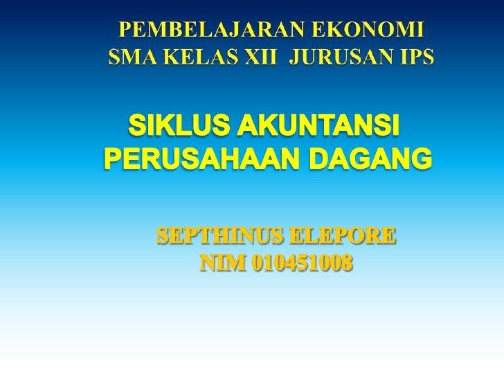 akuntansi oleh septhinus elepore