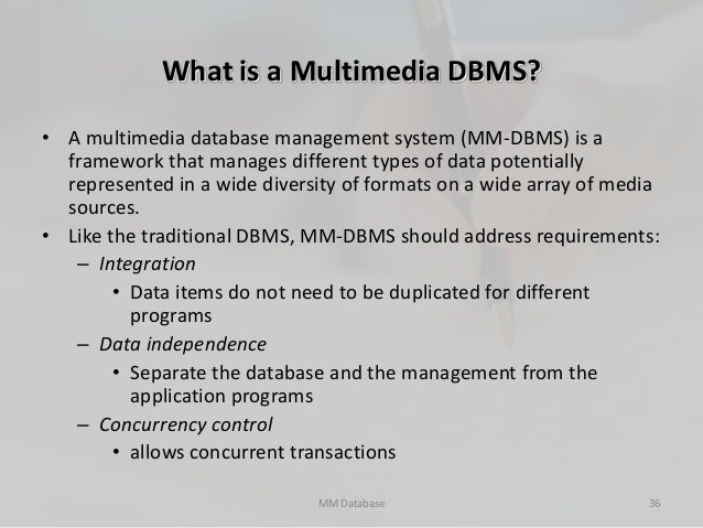 summary multimedia database Oracle multimedia servlets and jsp java api enables users to write java applications using java servlets and javaserver pages (jsp) oracle multimedia servlets and jsp java api is a component of oracle multimedia, a feature designed to manage multimedia content within oracle database.