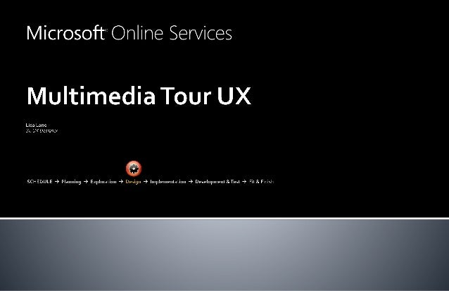 Multimedia UX