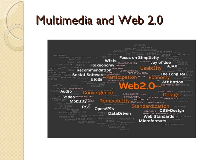 Multimedia and Web 2.0