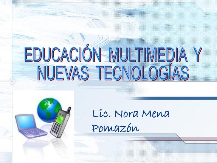 Lic. Nora MenaPomazón