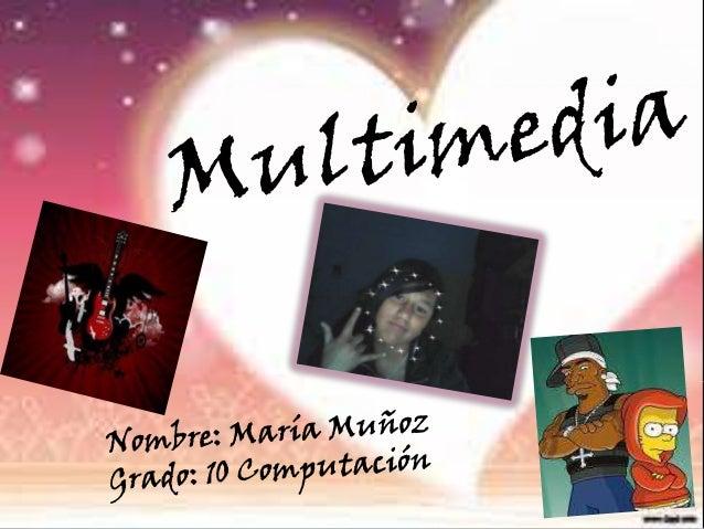 ¿Que es       multimedia?R//     Para mi la multimedia es un sistema o un medio     de comunicación para transmitir y dar ...