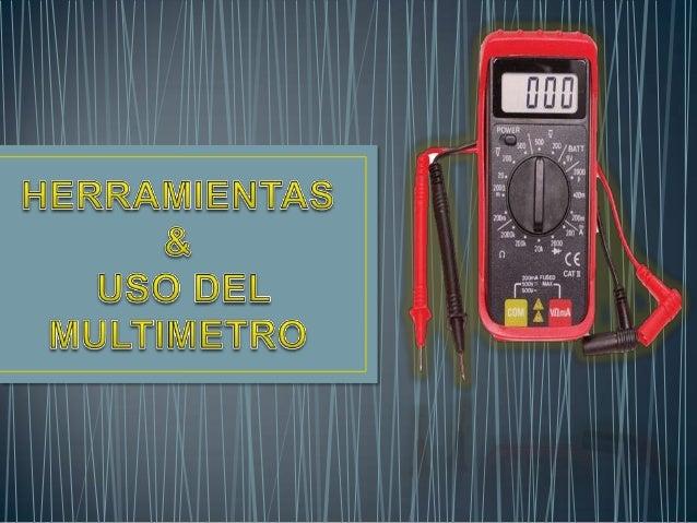 Multímetro quiere decir múltiples mediciones. Con este aparato aunque pequeño- se pueden medir Corrientes, Voltajes, Resis...