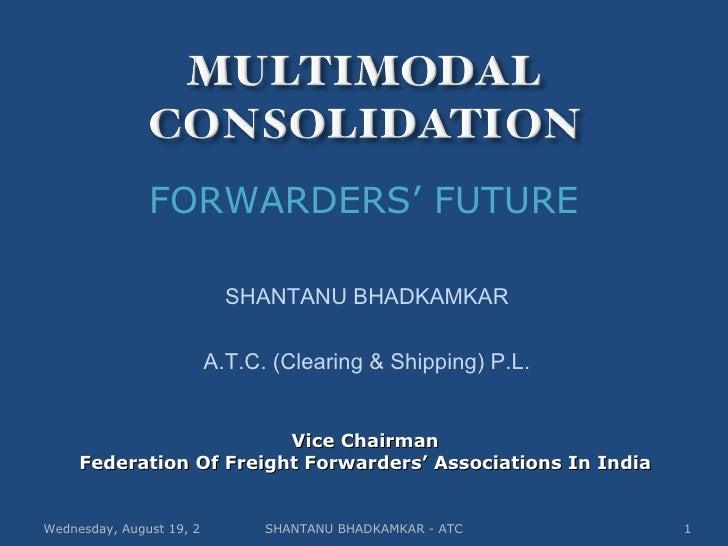 Multimodal Consolidation