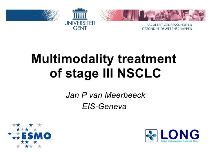Multimodality Treatment Of Stage Iii Nsclc