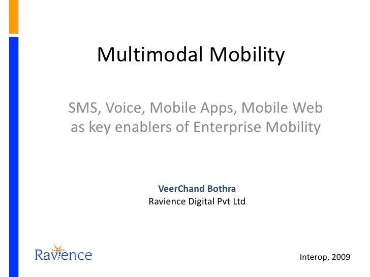 Interop - Multimodal Mobility
