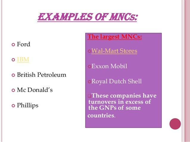 the pros and cons of multinational corporations
