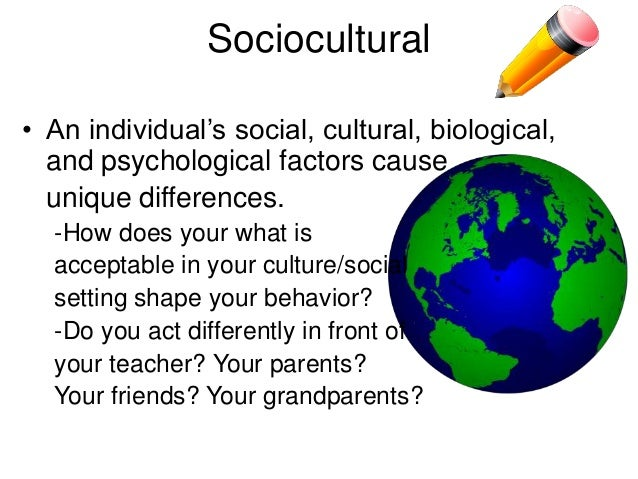 cultural aspects in biological psychology 2014-4-28  introduction to health psychology 1 1  social and cultural health psychology,  should take into account all three aspects.