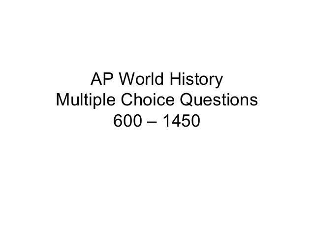 Multiple choice 600-1450