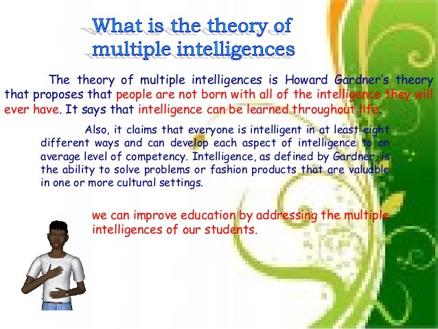 howard gardner multiple intelligences research paper