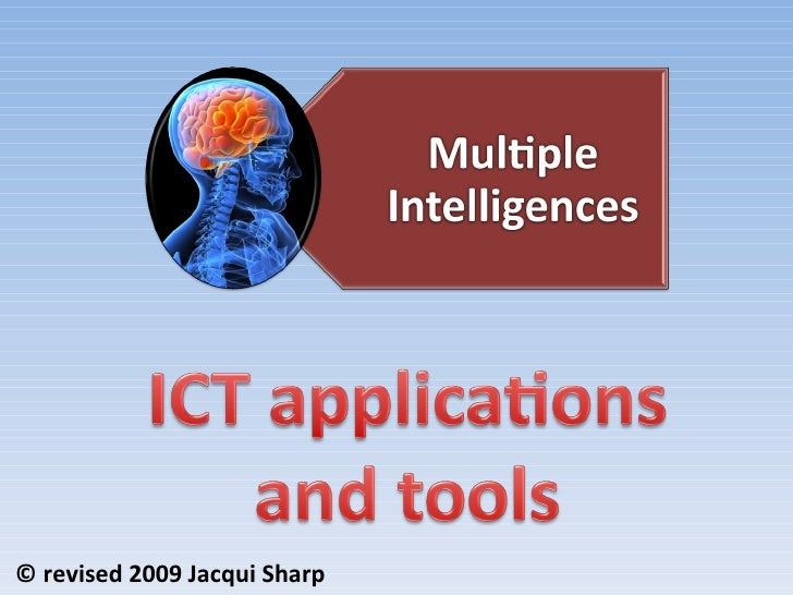 Multiple intelligences and Web2.0