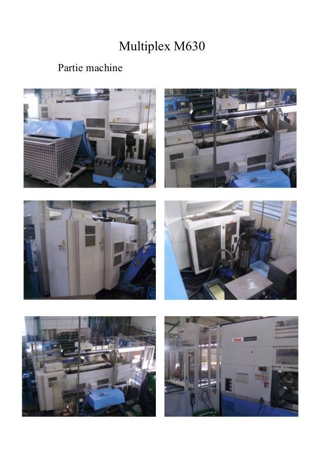 Multiplex M630Partie machine
