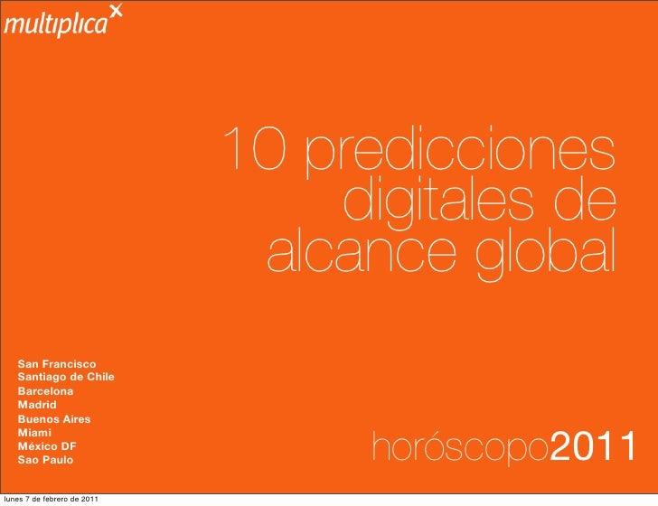 10 predicciones                                 digitales de                              alcance global   San Francisco  ...