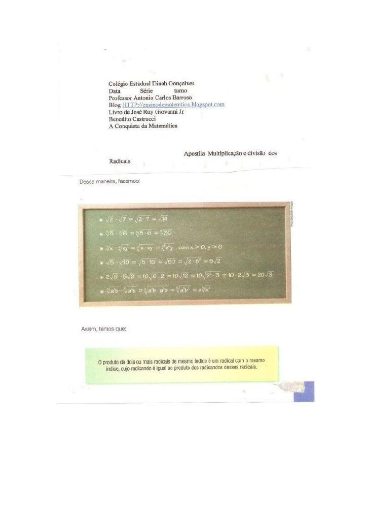 Professor Antonio Carlos Carneiro Barrosoaccbarroso@hotmail.comSalvador-BahiaWWW.twitter.com/profbarrosoWWW.facebook.com/a...