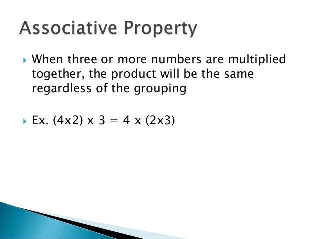 Multiplication Worksheets : properties of multiplication ...