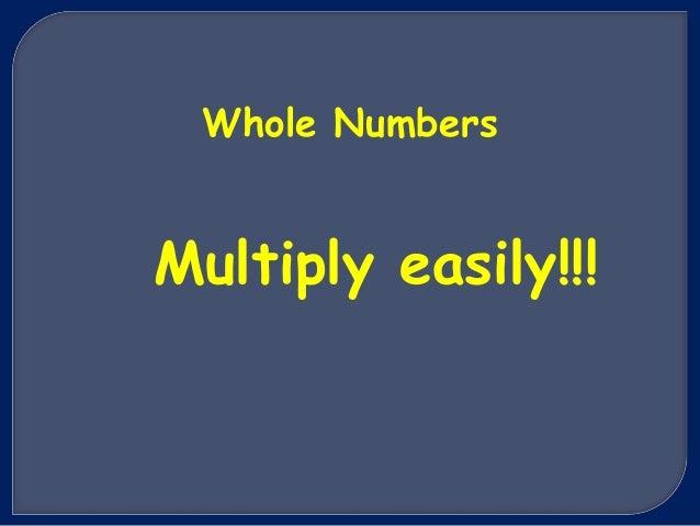 Multiply easily